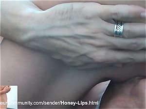 handsome stunner gets smashed in her wild crevices