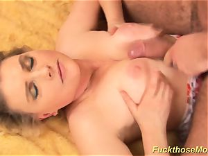chubby wooly mommy gets horny boinked