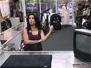 nasty nubile bi-atch screwing a Cuban female for her TV