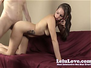 She deepthroats and romps while on the phone with her hotwife