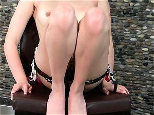 uber-sexy Cassie Laine reveals her plump tasty bosoms