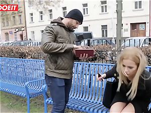 LETSDOEIT - super-fucking-hot light-haired Tricked Into sex By Czech dude