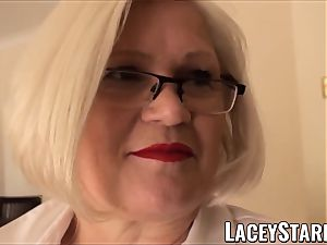 LACEYSTARR - enslaved GILF donk plunged by Pascal white