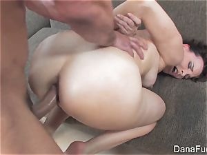 Dana DeArmond gets an ass-fuck plowing on the couch