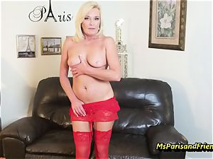 pack Up the Strippers gaping vulva with Ms Paris Rose