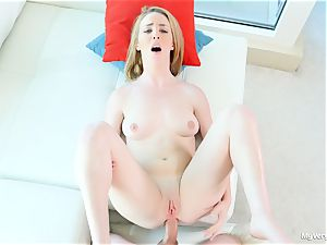 first ass fucking scene with insatiable Bonnie Grey