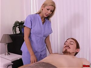 towheaded mummy pulsating jizz-shotgun Having Some torturous orgasm