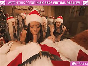 VRBangers Christams romp With Eight super-sexy Elves