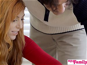 StepSiblings hookup In Front Of mummy - MyFamilyPies S3:E4