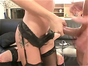 horny Tory Lane gives Amy Brooke a dual dipping