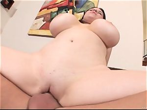 Daphne Rosen gets her raw fuckbox filled with rigid meatpipe