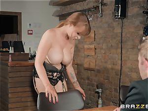 Danny jamming his big boner into sizzling redhead