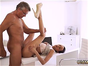 elderly father in law and highly grandma ultimately she s got her chief fuck-stick