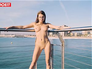 Russian babe Gets penetrated xxx By The Seaside