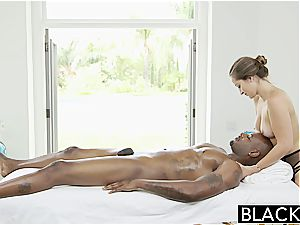 Darling Dani Daniels prepared to try out a ebony boner inside her