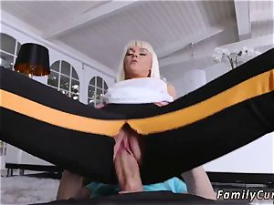 Step parent tears up fucking partner playfellow s daughter and allys stretching Your Stepmom