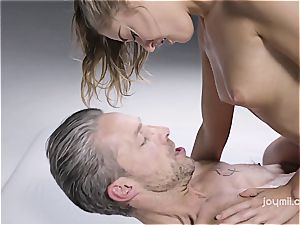 molten massage fondling and sultry fuck-a-thon with Tiffany