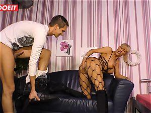 LETSDOEIT - super-steamy aunt-in-law rides cousins schlong On intercourse tape