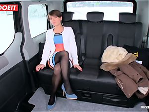 LETSDOEIT - Czech bi-atch Tricked and porked By taxi Driver
