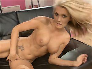 Natasha Marley likes taunting her sweet moist cooter