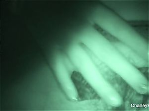 Night vision drilling with supah scorching Charley haunt