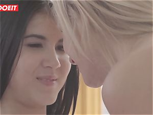 LETSDOEIT - nasty lesbo teenagers Get nasty At The Gym