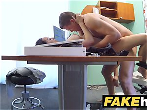 faux medical center Doctors manmeat spreads steamy Portuguese stunner