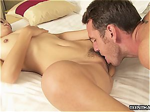 Thai doll getting her vagina poked