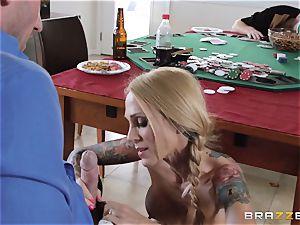 Sarah Jessie boinking her husbands poker buddy