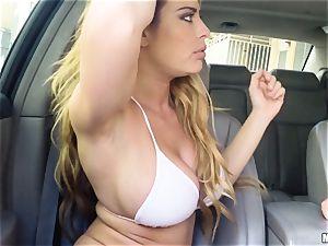 Corrina Blake delivers an in car thankyou ravage