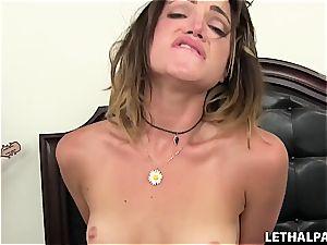 crazy youthfull stepsister needs a pecker