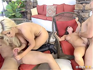 Bridgette B and her ladies ride together