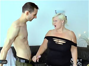 AgedLovE plump grandmothers xxx With convenient men