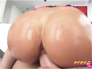 warm brunette Eva Lovia gets fucked by Mike Adriano