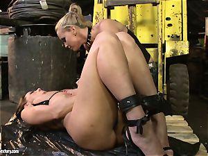 Andy brown and Kathia Nobili ass dildoing stiff