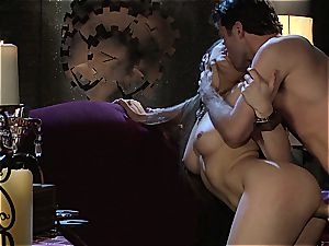Dani Daniels implementing cogs and sausages in her steampung fantasy