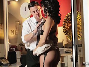super-fucking-hot office cutie Peta Jensen has fuck-a-thon with her employees after work