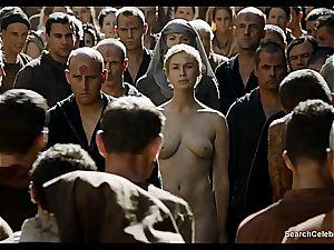 Lena Headey bares her nude body in Game of Thrones