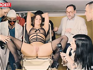LETSDOEIT - Amirah Is abused at her first bdsm party