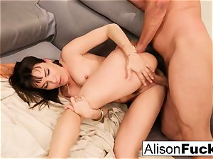 threesome of sexual strength and lots of pounding