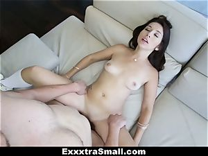 ExxxtraSmall - petite Ariana Grand Gets opened up!