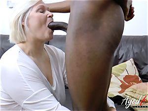 AgedLovE Lacey Starr gets bi-racial xxx