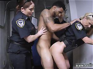 German milf gets boned and muddy cop Don t be dark-hued and suspicious around dark-hued Patrol