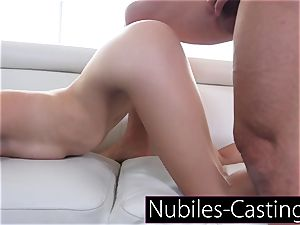 Piper Perri casts first time xxx for lil' nubile