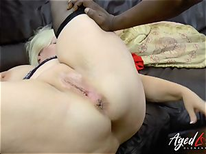 AgedLovE Lacey Starr interracial gonzo ass fucking