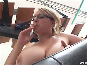 steamy mummy Lucy Rose smoking