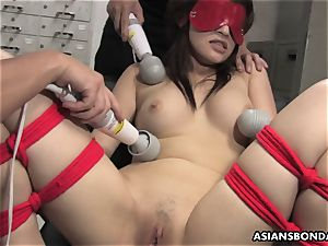 japanese chisel dickblower suffers a group frolicking