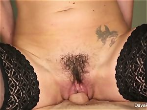 brunette ultra-cutie Dava gets smashed point of view style
