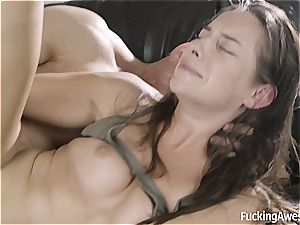 Cassidy Klein has no cash but pays with culo