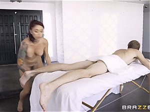 Monique Alexander secretly taking the thick monster manhood of Danny D in the rump
